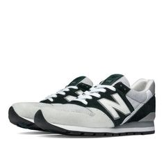 996 Explore by Air Men's Made in USA Shoes - Green/Grey (M996CEPA)