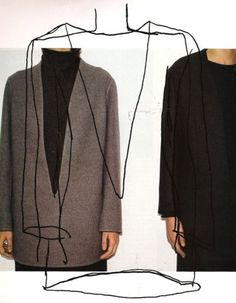 Martin Margiela for the House of Hermés Photographed and Illustrated by Mark Borthwick for Harper's Bazaar June 1998
