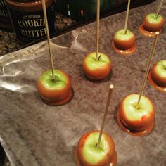 Cookie Butter Candy Apples
