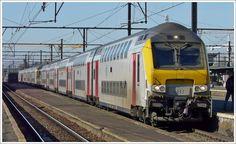 Dieser Zug besteht aus zwei Loks der Série 27 und M 6 Wagen (davon zwei M 6 Steuerwagen). Ein Teil des Zuges kommt aus Knokke, der andere aus Blankenberge und in Brugge werden sie zusammengekuppelt, um gemeinsam nach Tongres (Tongeren) zu fahren.