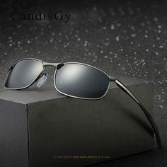 Men Sunglasses Brand designer HD lens Sun glasses UV400 Mirror Eyewear Male Polarized High Fashion Quality Cool #Affiliate