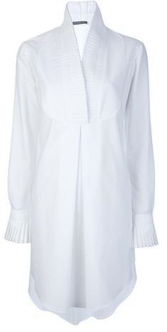 A MCQUEEN Shirt Dress just gorgeous anyone seen anything like this in high street terms?