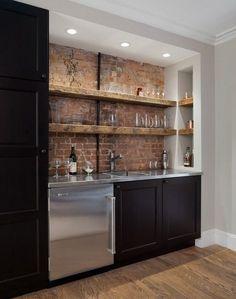 Bar minimalist acasa