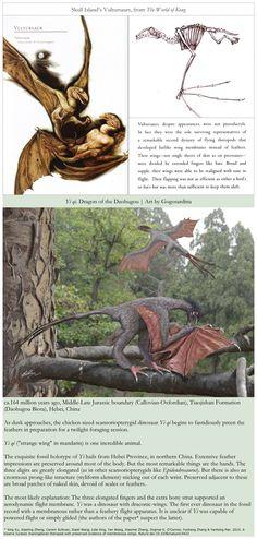 Yi qi, the real vultursaur! Dinosaurs were real.