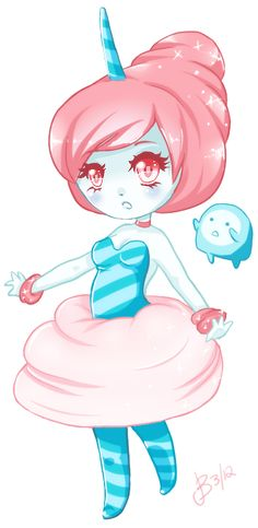 Cotton Candy Princess - Adventure Time by ~KnockMeOut on deviantART