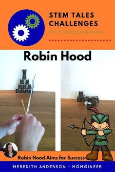 Design and create a bow for Robin Hood! In this STEM tale, help Robin Hood repay his debts by winning the archery competition. Steam Activities, Science Activities, Reading Activities, Science Education, Science Experiments, Stem School, Stem Science, Physical Science, Earth Science