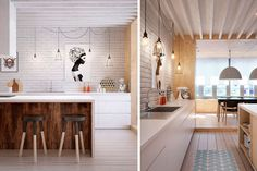   Como decorar cocinas en estilo nórdico