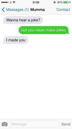Mom's Jokes: