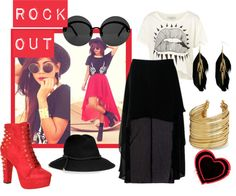 """""""Rock Out"""" by sunyb on Polyvore"""