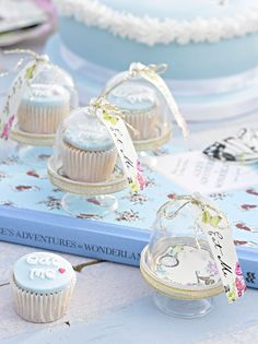 Alice in Wonderland party. This Truly Alice Curious Cake Dome Set by Talking Tables is perfect! Alice In Wonderland Decorations, Alice In Wonderland Birthday, Alice In Wonderland Tea Party, Wonderland Costumes, Mad Hatter Party, Mad Hatter Tea, Mad Hatters, Mad Hatter Wedding, Mini Cupula