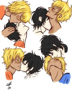 Here is some shameless solangelo :D