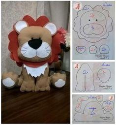 Felt Crafts Patterns, Doll Patterns, Bear Felt, Baby Letters, Emoji Stickers, Cute Stuffed Animals, Felt Dolls, Diy Toys, Nursery Wall Art