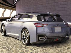 Subaru to Debut its First Hybrid i like - http://extreme-modified.com/