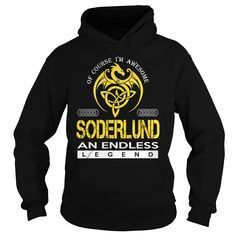 SODERLUND An Endless Legend (Dragon) - Last Name, Surname T-Shirt