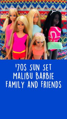 Barbie Family, Malibu Barbie, Vintage Barbie Dolls, Barbie Friends, Little Sisters, Pretty Hairstyles, Cool Things To Buy, Nostalgia, Best Friends