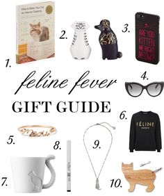 Gift Guide for the Cat Obsessed – Style Context