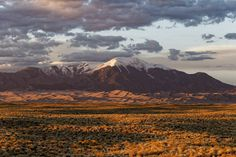 I'm on an 11000 mile road trip around the US this is one of my favorite shots so far: Great Sand Dunes Colorado [OC] [5454x3635]   landscape Nature Photos