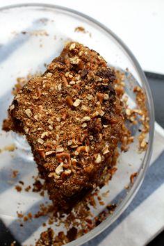 Momofuku Pretzel Cake - (Pretzel Cake, Pretzel Crunch, Stout Ganache, Burnt Honey Frosting)