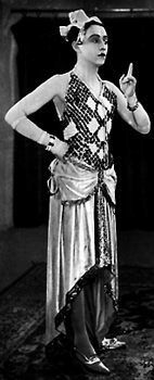 Curt Bois, Cross Dressing, ca. 1930 Berlin