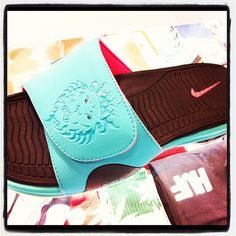 91d8ad2dab42 Nike Lebron Slide South Beach!