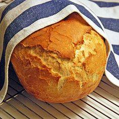 Bröd i lergryta