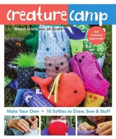 Creature Camp softie sewing book