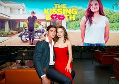 The kissing booth NOAH and ELLE as a couple at the premier Jacob Elordi and Joey King