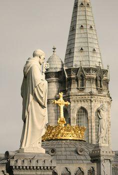 St Bernard in Lourdes  Find Super Cheap International Flights to Lourdes, France ✈✈✈ https://thedecisionmoment.com/cheap-flights-to-europe-france-lourdes/