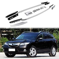 Roof Rack Rail Fit For HONDA Acura RDX 2012-2017 Cross Bar Baggage luggage. Sold As A Pair. Made of high quality light weight durable aluminum. 100% Brand New In Stock, Item Exactly As The Picture Shown. Completely Benefit Your Travelling Life . All Necessary Mounting Screws Are Included.