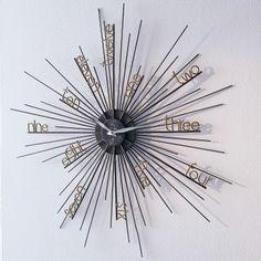 Wohnzimmer Uhren Modern, 45 besten uhren⏰ bilder auf pinterest | wall clocks, clock wall und, Design ideen