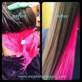 Peek A Boo Pink Stylist: Claudia www. Peek A Boo Pink Stylist: Claudia www. Pink And Black Hair, Pastel Pink Hair, Hair Color Pink, Cool Hair Color, Purple Hair, Pink Peekaboo Hair, Pretty Pastel, Diy Hair Dye, Dyed Hair