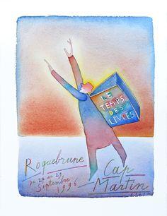 Le temps des livres : Jean-Michel Folon