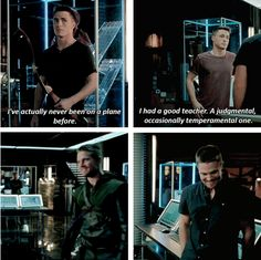 Arrow - Oliver and Roy #3.3 #Season3