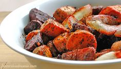 Simple Roasted Carrots & Parsnips Will Warm Your Winter Recipe ...