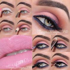 .@maya_mia_y | Pictorial 1.Apply @sophia oranje Cosmetics jumbo pencil milk allover the lid 2.Apply @... | Webstagram - the best Instagram viewer