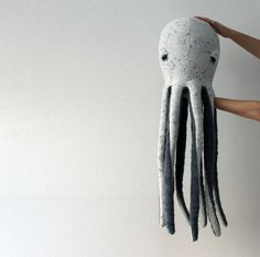 Une GRANDE Pieuvre  Peluche fabrique à la main  par BigStuffed
