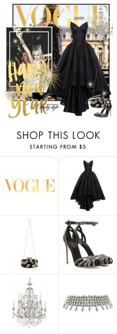"""""""HAPPY NEW YEAR TO ALL!!!!"""" by mariapia65 ❤ liked on Polyvore featuring Chanel, WALL, HUISHAN ZHANG, Dolce&Gabbana, Swarovski, Bulgari, NewYearsEve and newyearstyle"""