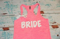 How ADORABLE <333 Bride Shirt. Bride Tank. Future Mrs Tank. by strongconfidentYOU