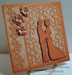 lovely card made with Cherry Lynn dies...