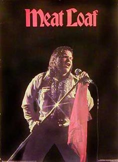 Meat loaf (velvet flocked poster) - Lead Pipe Posters - Vintage ...