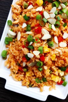 Skip the take-out and make this Sweet & Sour Chicken Fried Rice; two of your favorite take-out dishes made into one 30-minute meal.