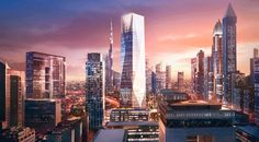 Groundbreaking of ICD Brookfield Place by Foster + Partners