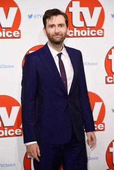 PHOTOS: David Tennant Attends The TV Choice Awards 2015