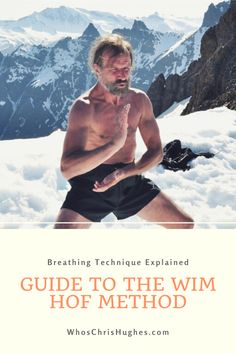 Curious about Wim Hof and the Wim Hof Method of Breathing? You're in luck! I've put together a guide to help you master his breathing technique. Kundalini Yoga, Yoga Meditation, Sport Fitness, Health Fitness, Wim Hof, Breathing Techniques, Spiritual Health, Health Facts, Motivation