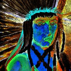 abstract native american paintings and art | American Painting by David Lee Thompson - The American Fine Art Prints ...
