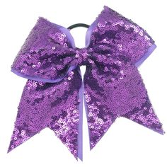 Full Sequined Cheer Bow!!!---Chengna Hair Accessories