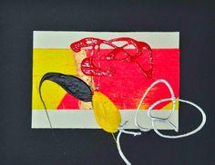 """L'arte di Vittorio Amadio: Tengo e Aomame. Il Murakami che dipingo: """"Aomame. Se noi siamo felici o infelici"""""""
