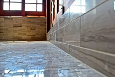 How do you like to see your new bathroom? Polished, clean, and shiny! Ready to use! #bathroom #tile #construction #custombuildingproducts #bvi #stone