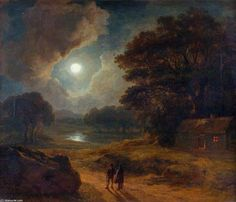 Night by James Arthur O Connor (1792-1841, Ireland)