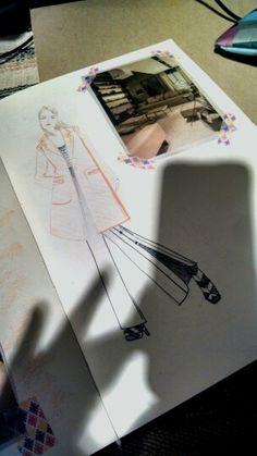 shadow #drawing #fashion #trenchcoat